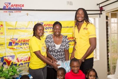Africa Lotto reaches out to orphans