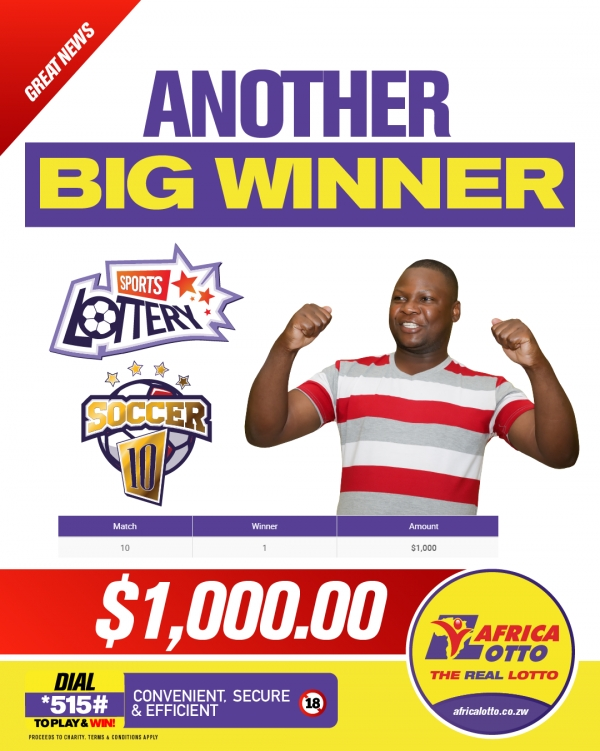 Africalotto - The Real Lotto! - Jackpot Winners